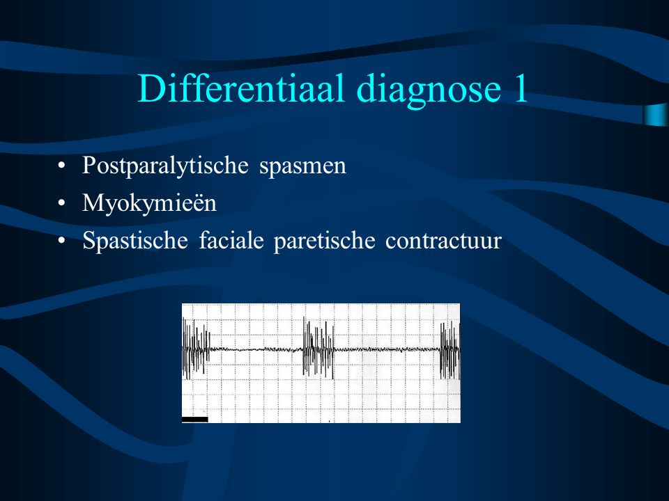 Differentiaal diagnose 1