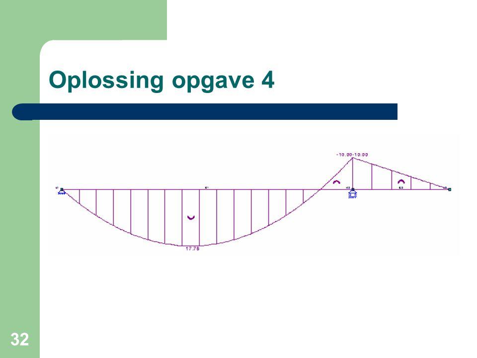 Oplossing opgave 4
