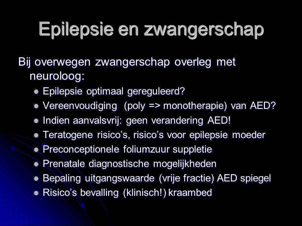 Epilepsie en zwangerschap