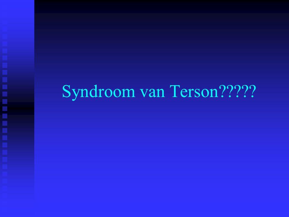 Syndroom van Terson