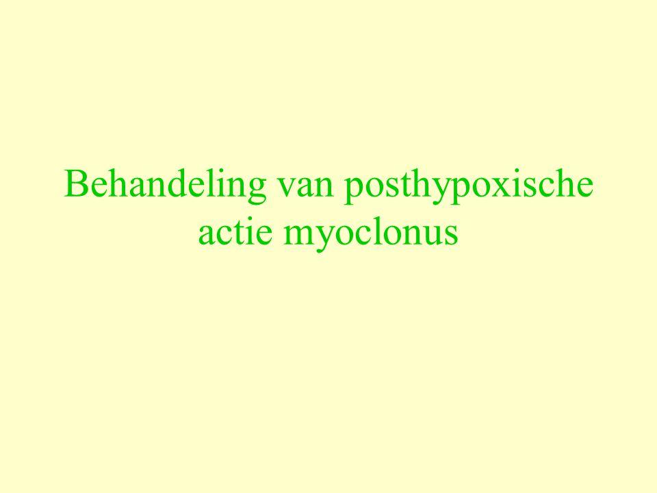 Behandeling van posthypoxische actie myoclonus