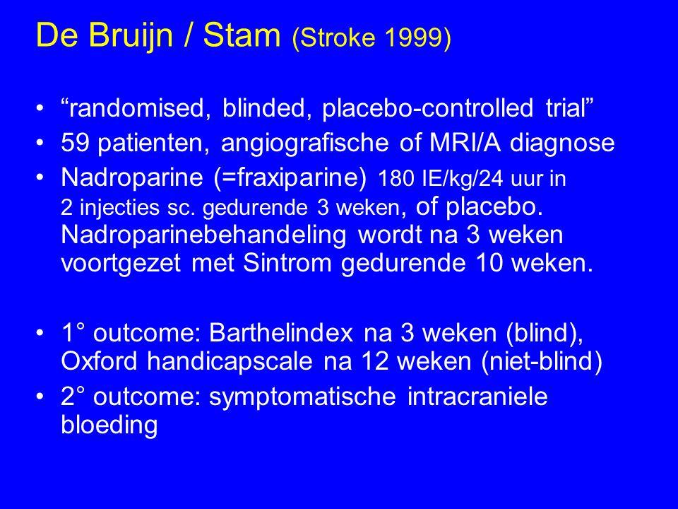 De Bruijn / Stam (Stroke 1999)