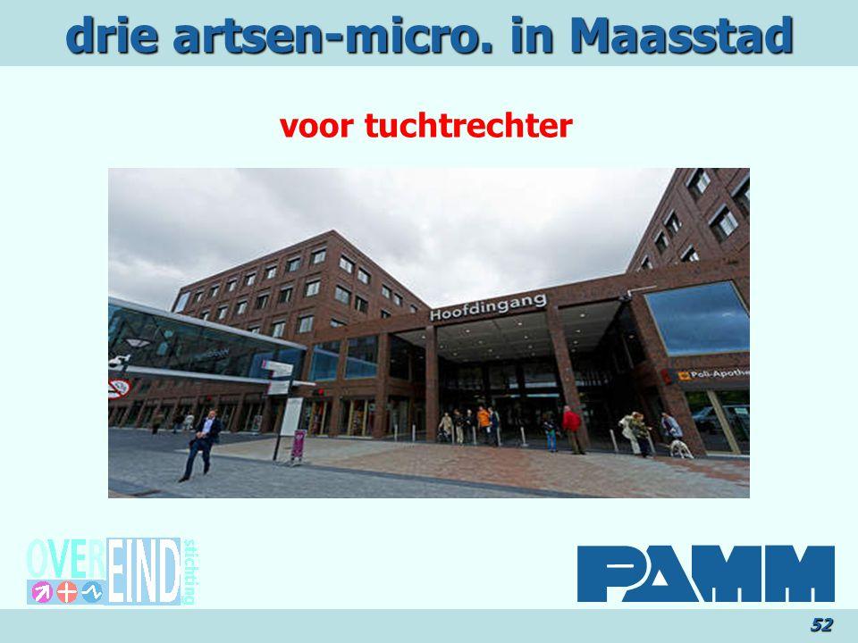 drie artsen-micro. in Maasstad