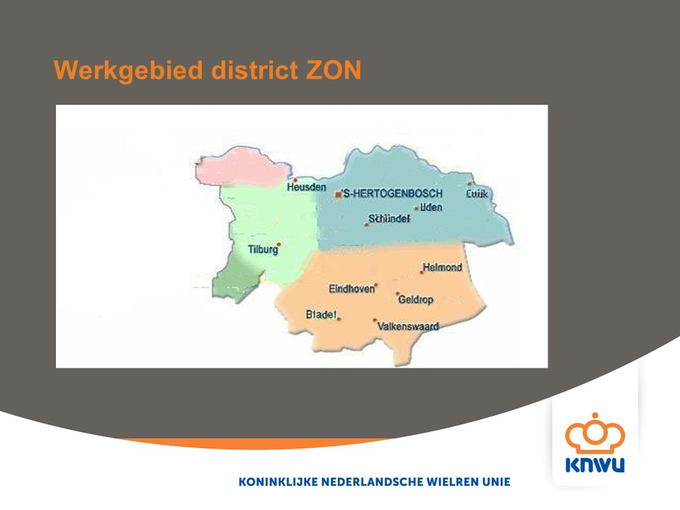Werkgebied district ZON