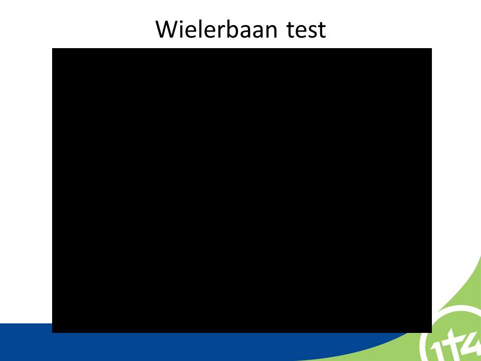 Wielerbaan test