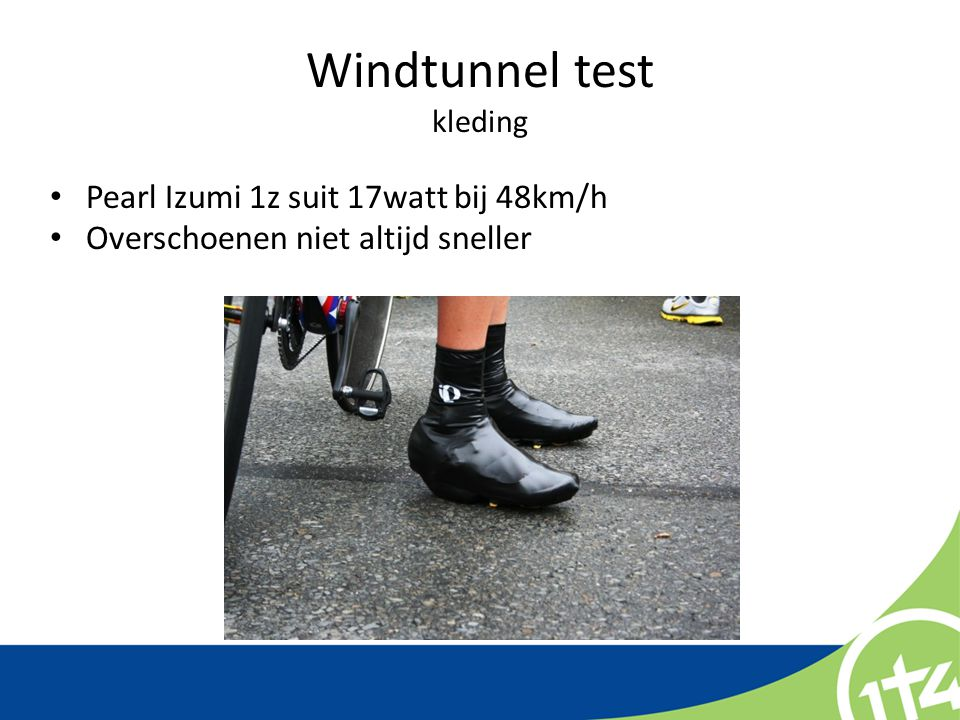 Windtunnel test kleding