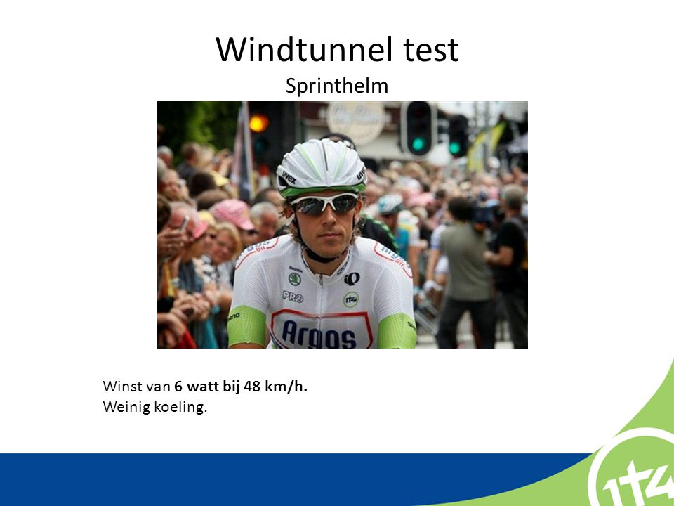 Windtunnel test Sprinthelm