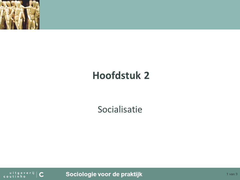 Hoofdstuk 2 Socialisatie