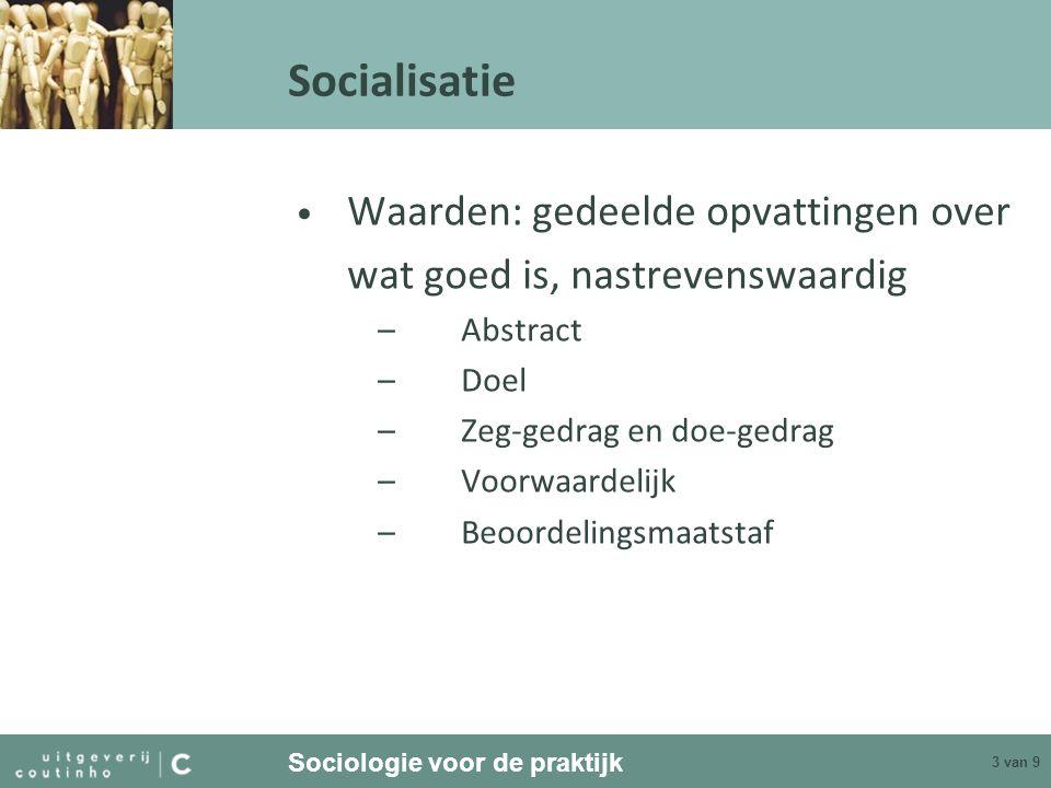 identiteit en socialisatie