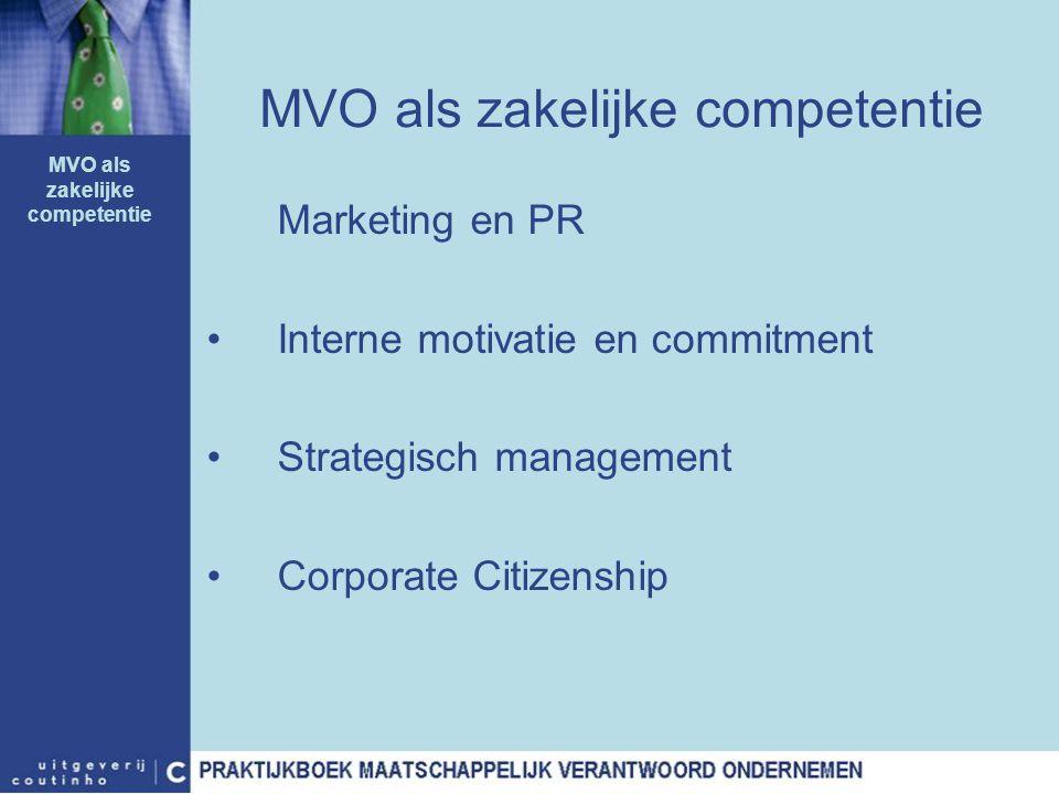 MVO als zakelijke competentie