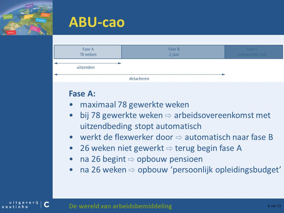 ABU-cao Fase A: maximaal 78 gewerkte weken