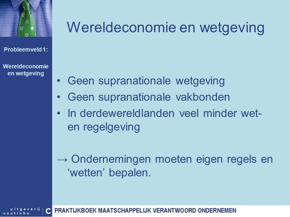 Wereldeconomie en wetgeving