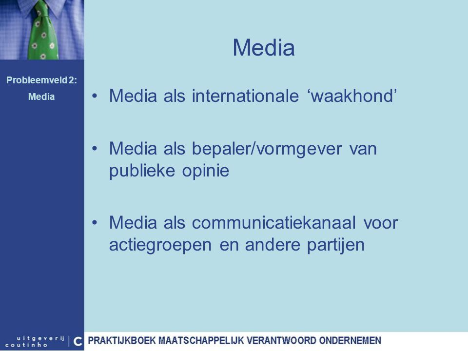 Media Media als internationale 'waakhond'