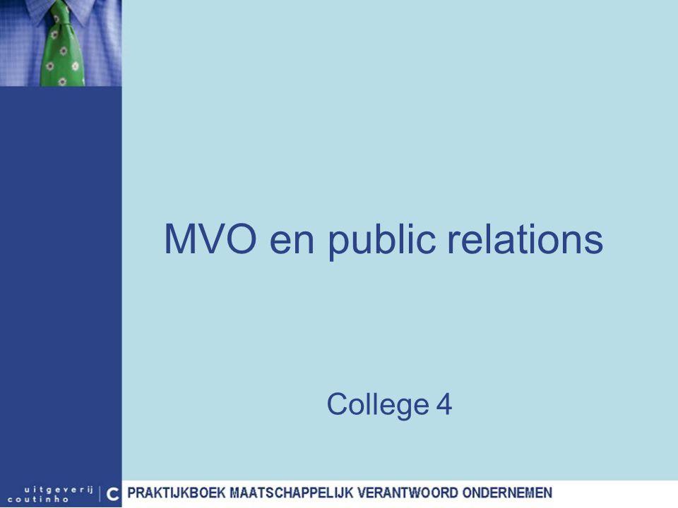 MVO en public relations