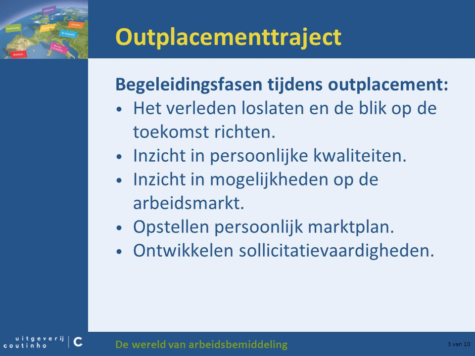 Outplacementtraject Begeleidingsfasen tijdens outplacement: