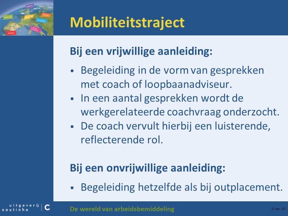 Mobiliteitstraject Bij een vrijwillige aanleiding: