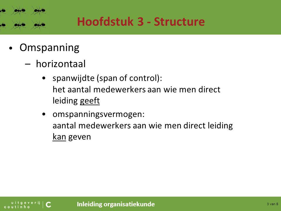 Hoofdstuk 3 - Structure Omspanning horizontaal