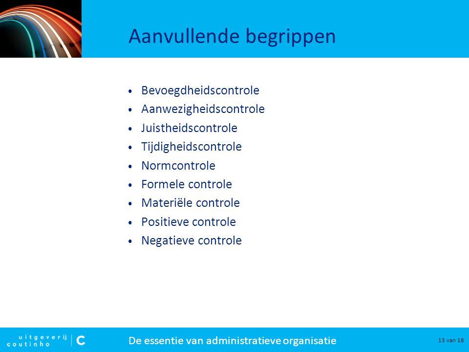 positieve negatieve controle