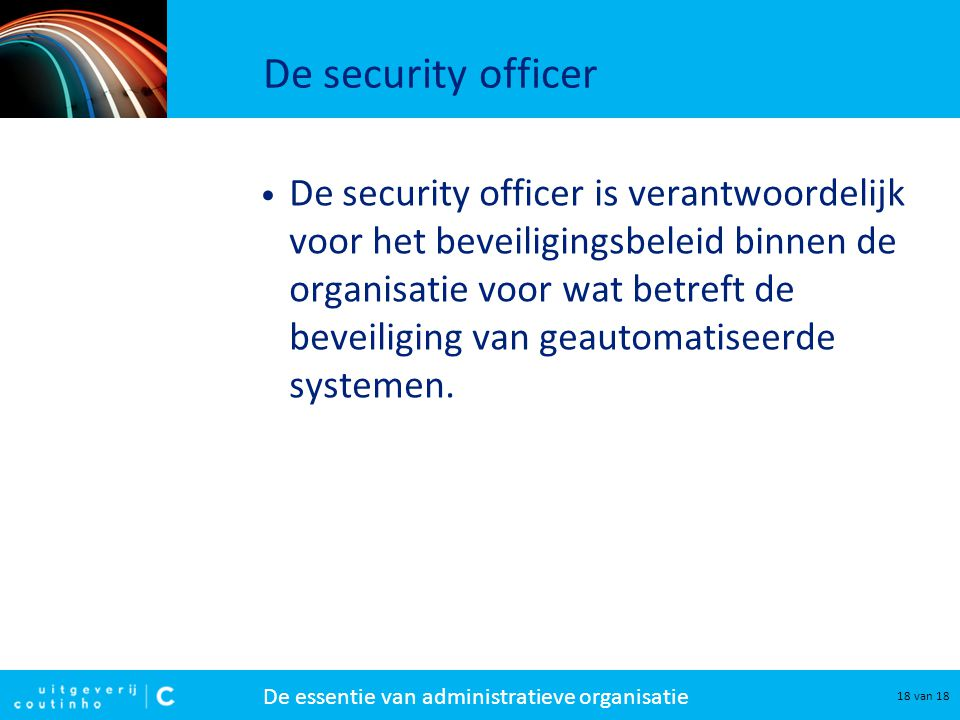 De security officer