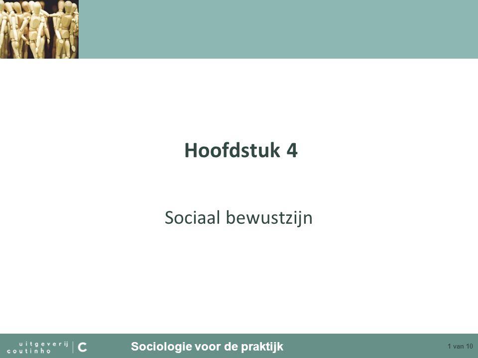 Hoofdstuk 4 Sociaal bewustzijn