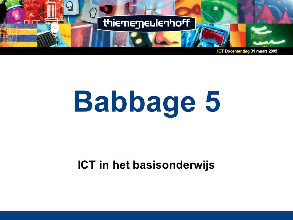 ICT in het basisonderwijs