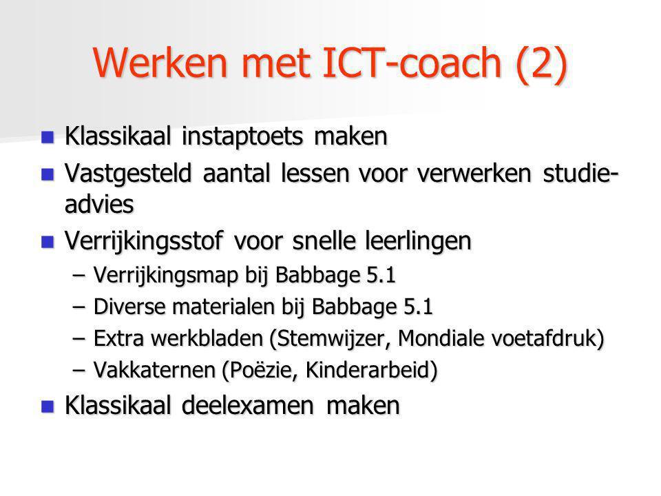 Werken met ICT-coach (2)