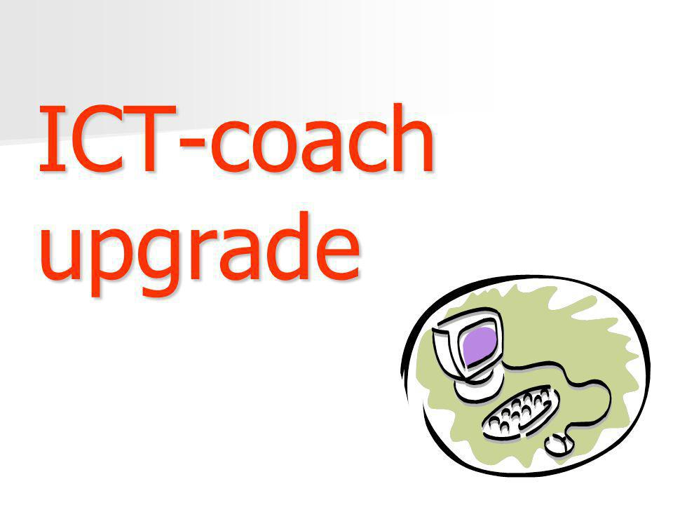 ICT-coach upgrade