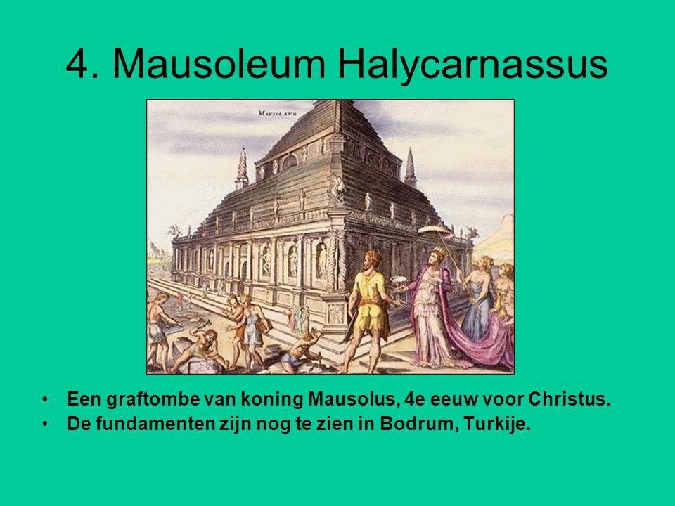 4. Mausoleum Halycarnassus