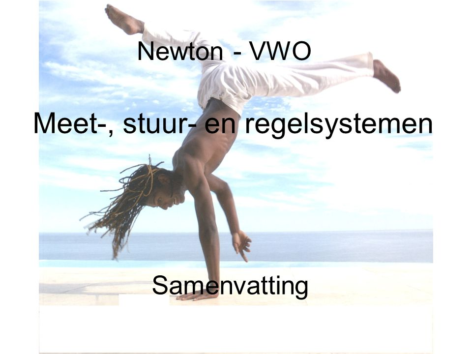 Meet-, stuur- en regelsystemen