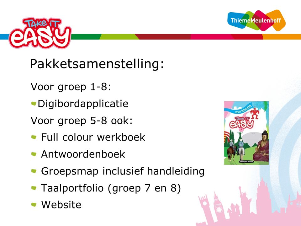 Pakketsamenstelling:
