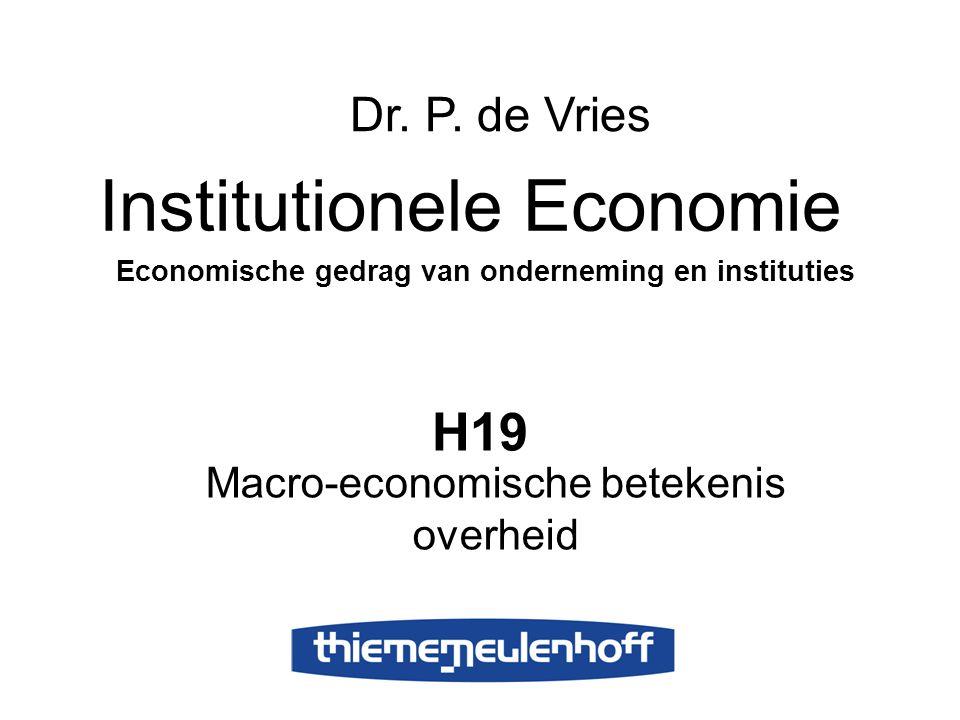 Macro-economische betekenis overheid