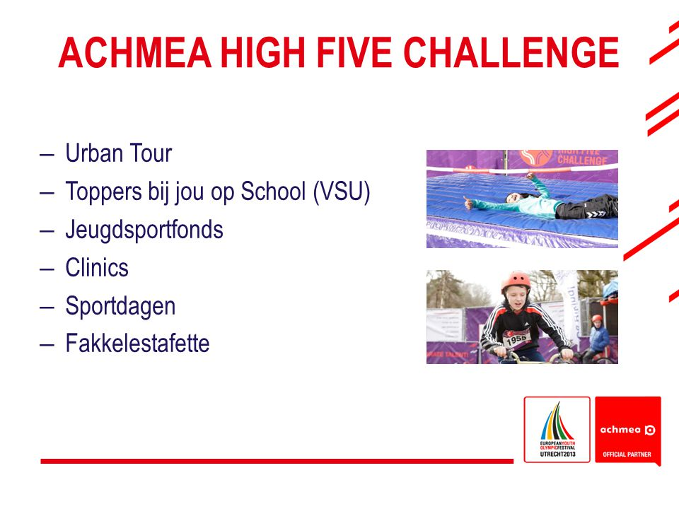 Achmea High Five Challenge