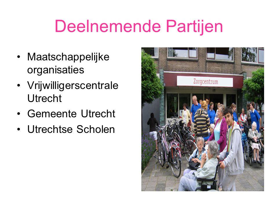 Deelnemende Partijen Maatschappelijke organisaties