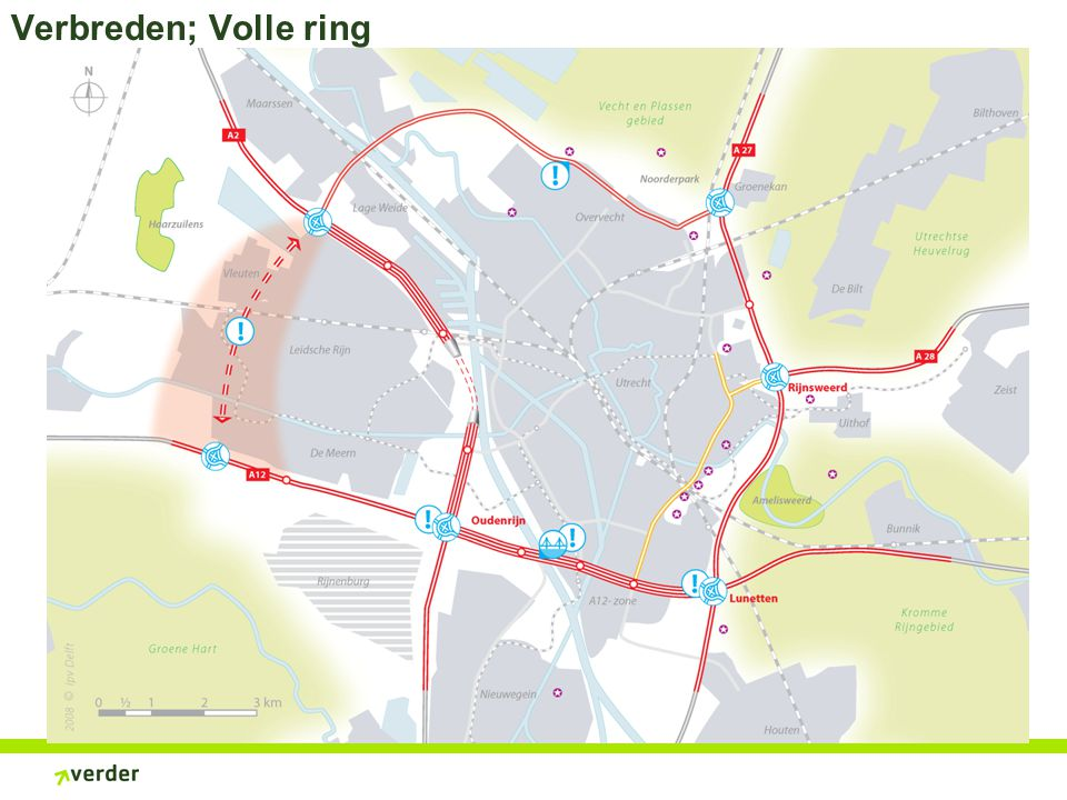Verbreden; Volle ring