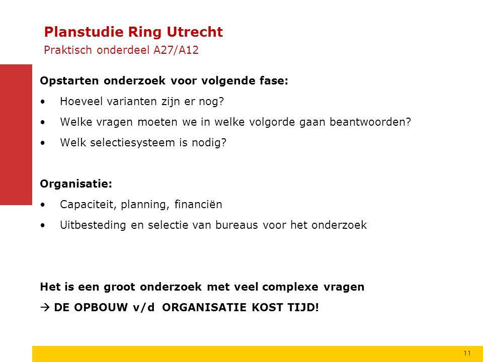 Planstudie Ring Utrecht