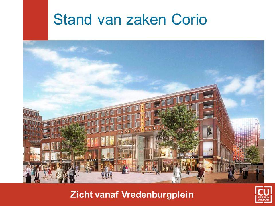Zicht vanaf Vredenburgplein
