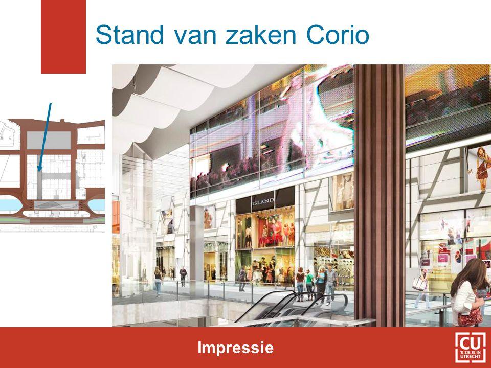 Stand van zaken Corio Impressie