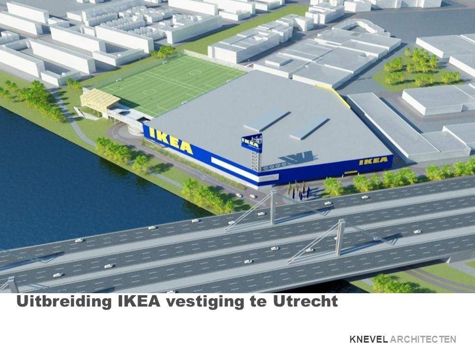 Uitbreiding IKEA vestiging te Utrecht