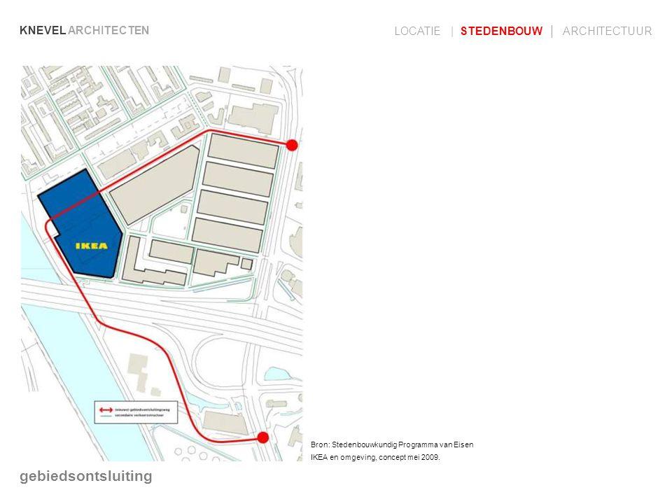 gebiedsontsluiting LOCATIE | STEDENBOUW | ARCHITECTUUR