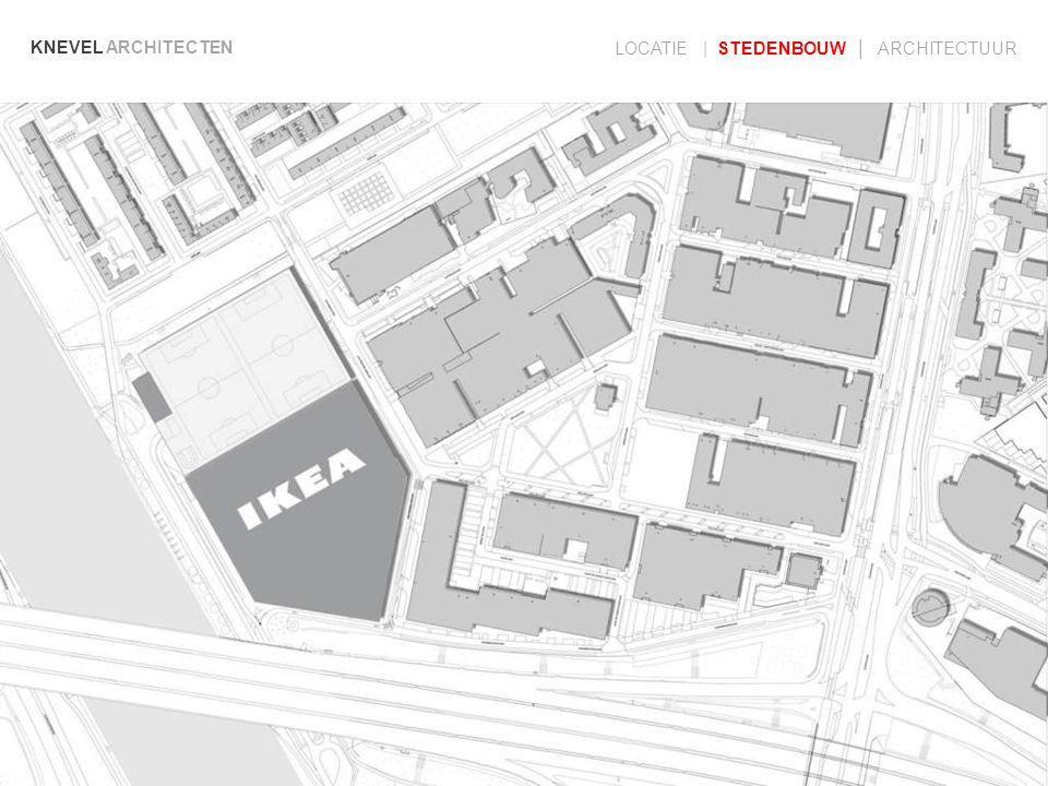 KNEVEL ARCHITECTEN LOCATIE | STEDENBOUW | ARCHITECTUUR locatie