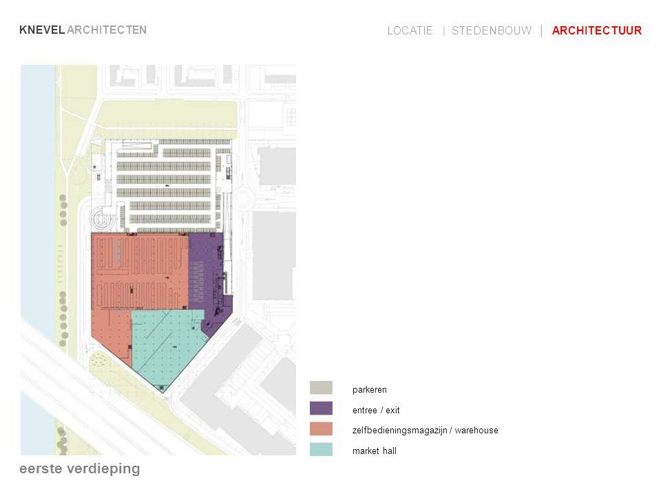 eerste verdieping LOCATIE | STEDENBOUW | ARCHITECTUUR