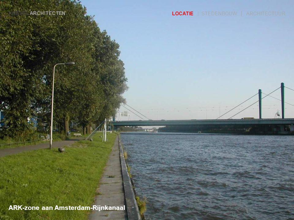 ARK-zone aan Amsterdam-Rijnkanaal