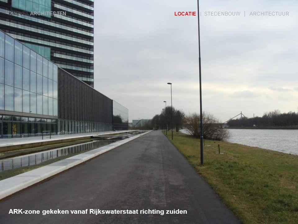 ARK-zone gekeken vanaf Rijkswaterstaat richting zuiden