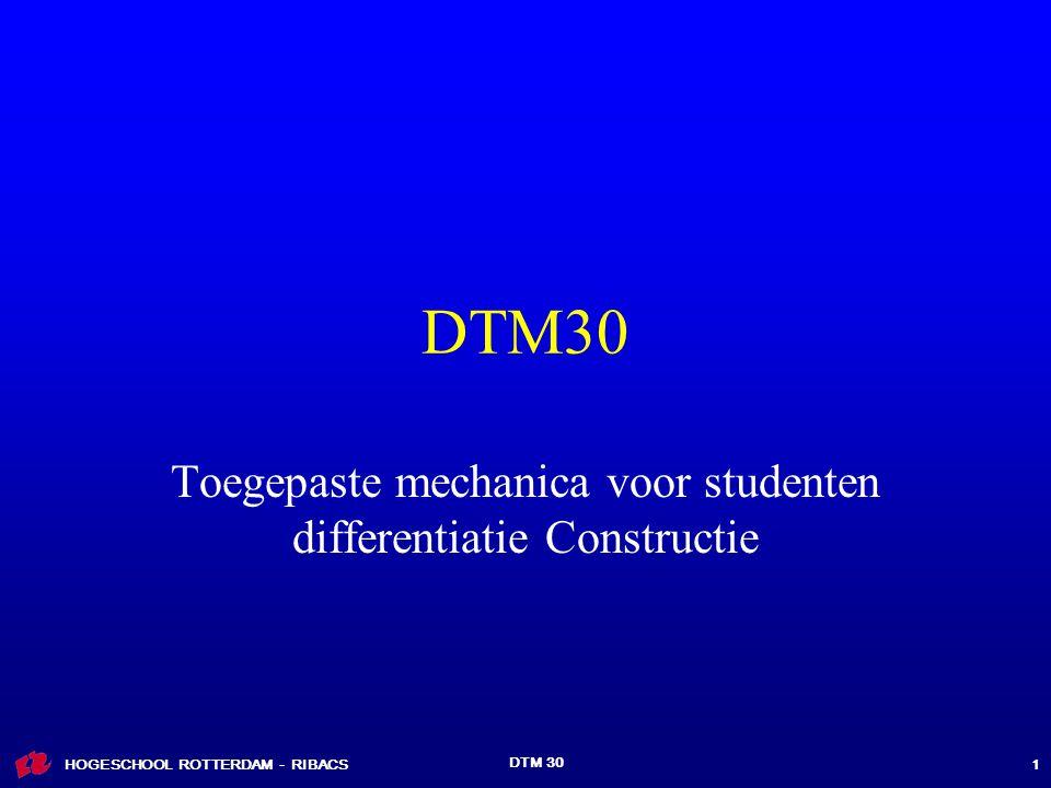 Toegepaste mechanica voor studenten differentiatie Constructie