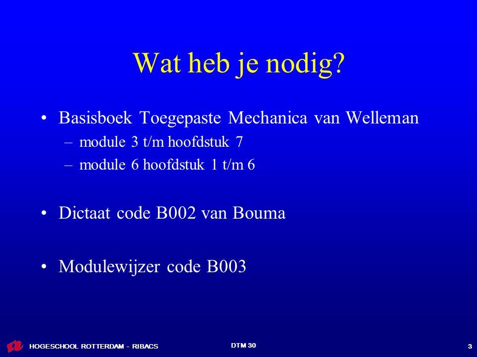 Wat heb je nodig Basisboek Toegepaste Mechanica van Welleman