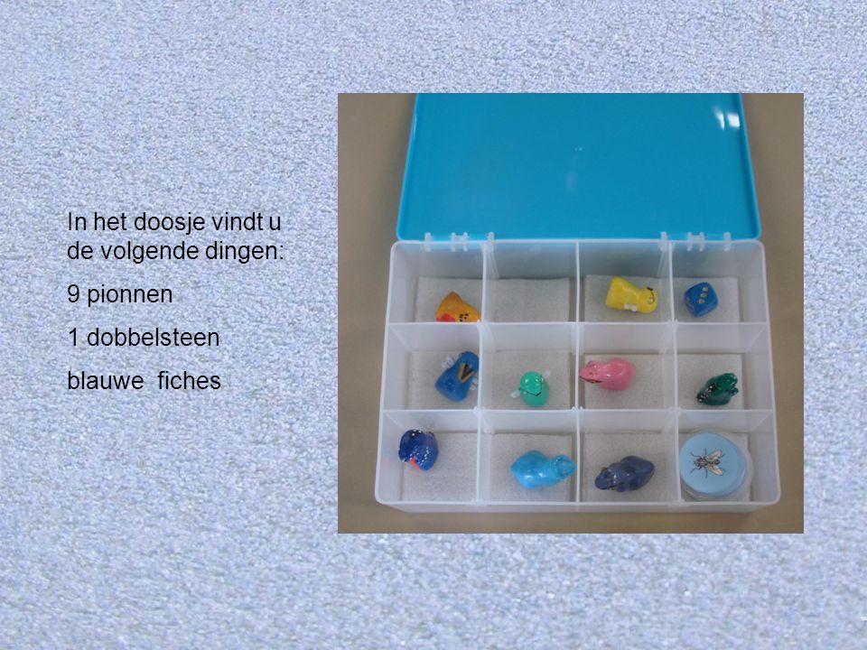 In het doosje vindt u de volgende dingen:
