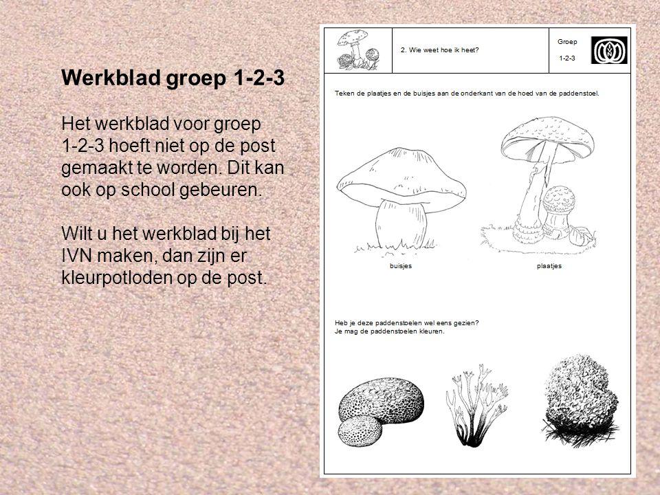 Werkblad groep 1-2-3