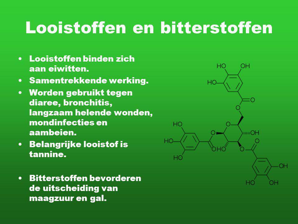 Looistoffen en bitterstoffen