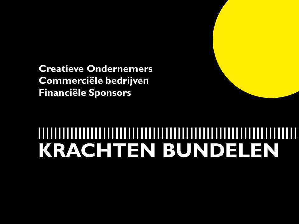 Creatieve Ondernemers Commerciële bedrijven Financiële Sponsors