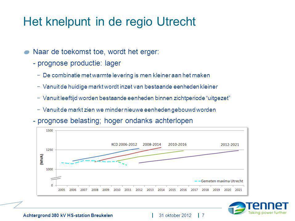 Het knelpunt in de regio Utrecht